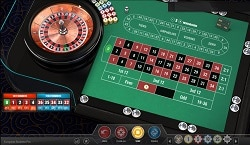 playing at roulette