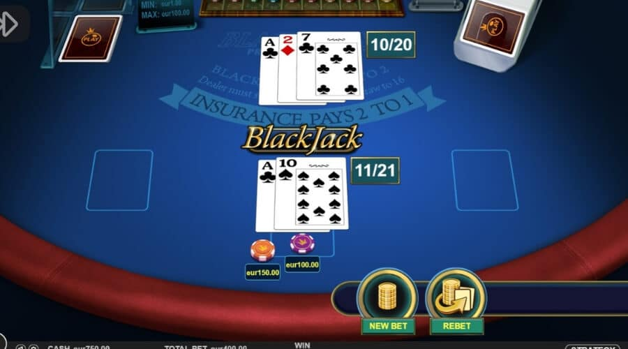 Zet Casino Blackjack