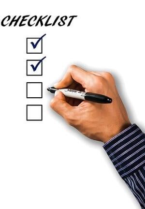reload bonus checklist