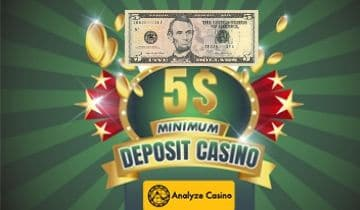 5 minimum deposit casino