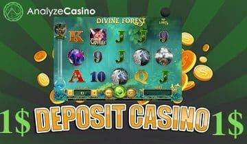 1 $ deposit casino