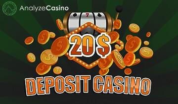 20 dollar min deposit casino