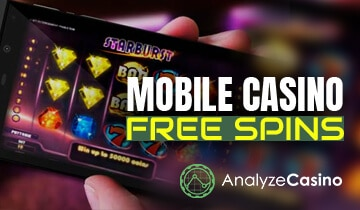 mobile casino free spin