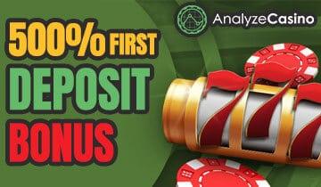 500 Deposit Bonus