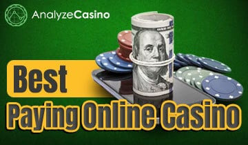 best payout online casino uk