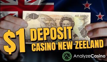 1 deposit casino New Zeeland
