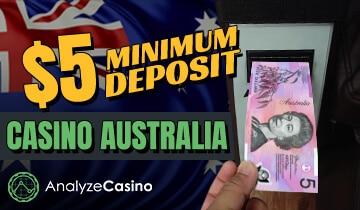 casino minimum deposits