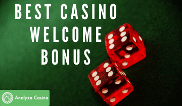 BEST Casino Welcome Bonus
