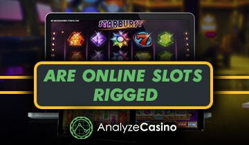 are online slots rigged