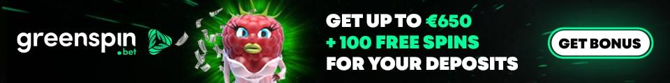 GreenSpin Banner €