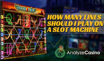 how many lines should I play on a slot machine
