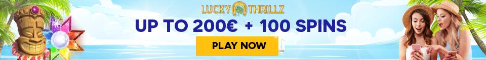 LuckyThrillz Banner €