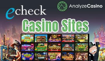eCheck Casino Sites